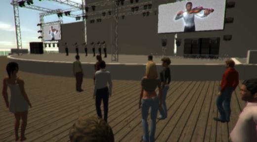 Afbeelding virtuele omgeving