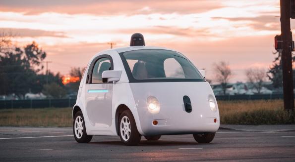 Foto Google car