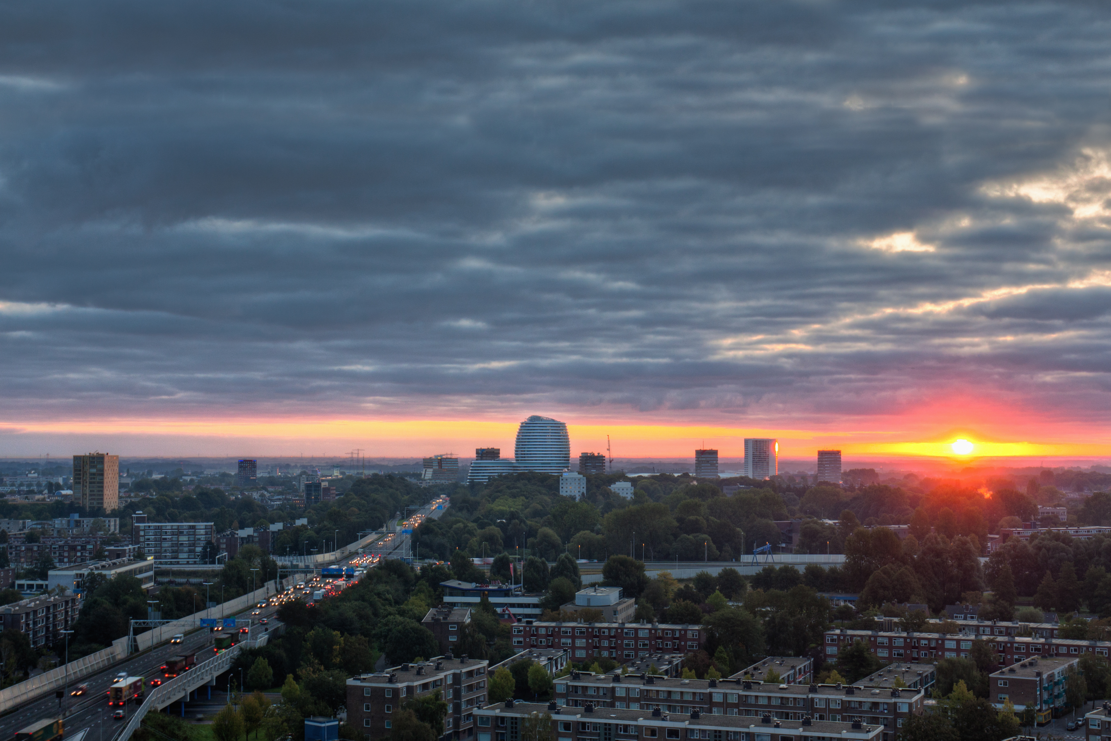 Afbeelding: De inhaalslag van Groningen
