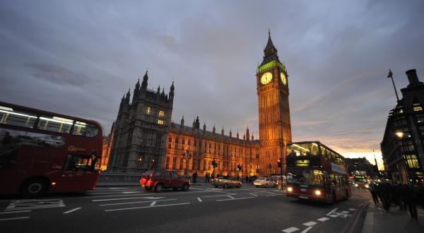 Verkeer Londen (foto: Robert de Voogd)